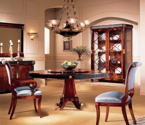 gerogia round dining table