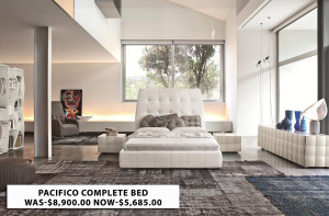 pacifico complete bed