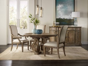 Solana Pedestal Dining Table
