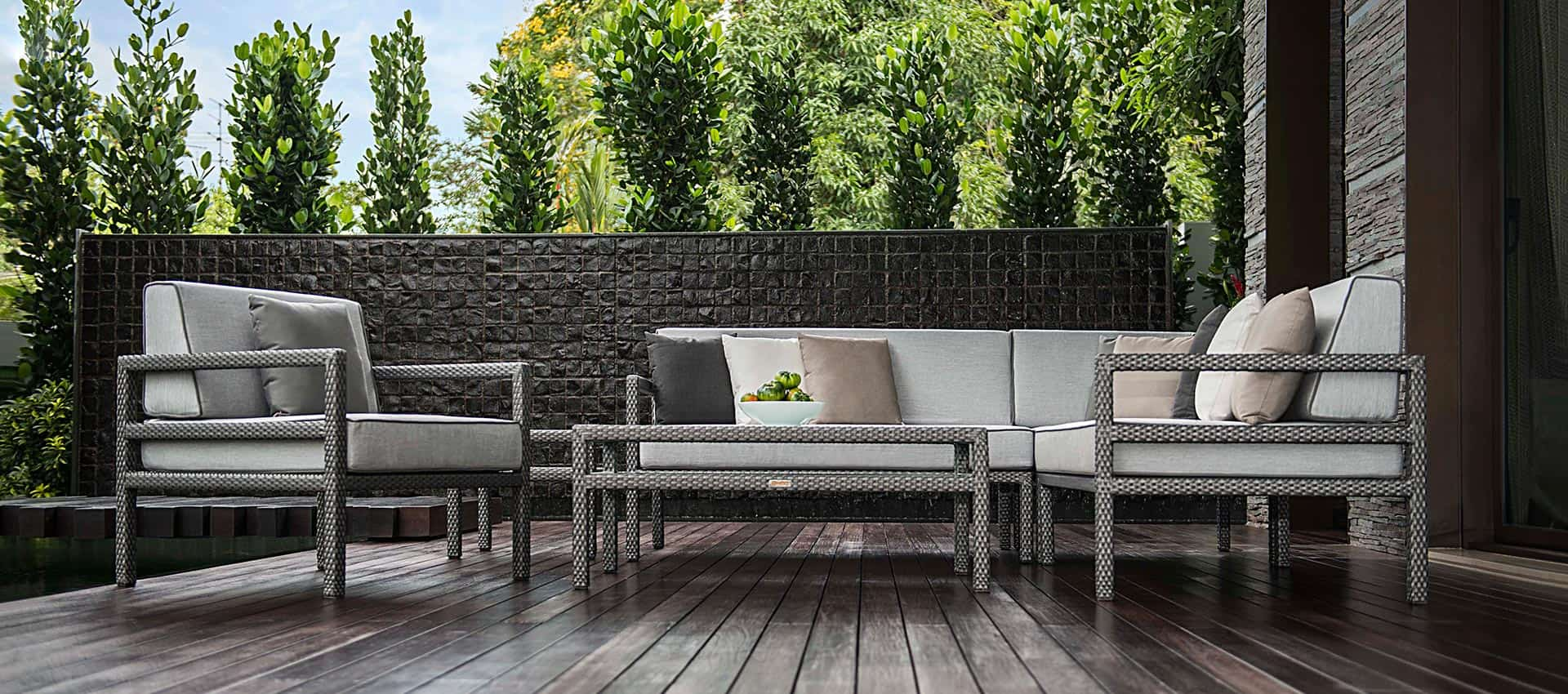 outdoor furniture summer light collection