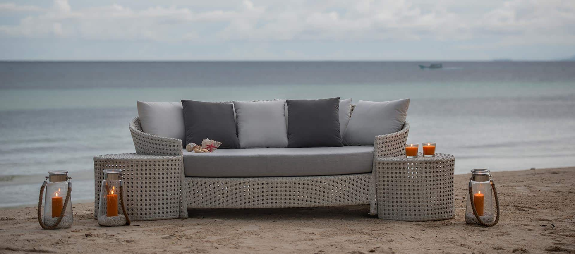 outdoor furniture tamaru daybed collection