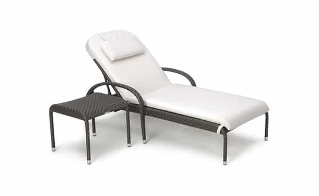 outdoor furniture fiesta sunlounger side table