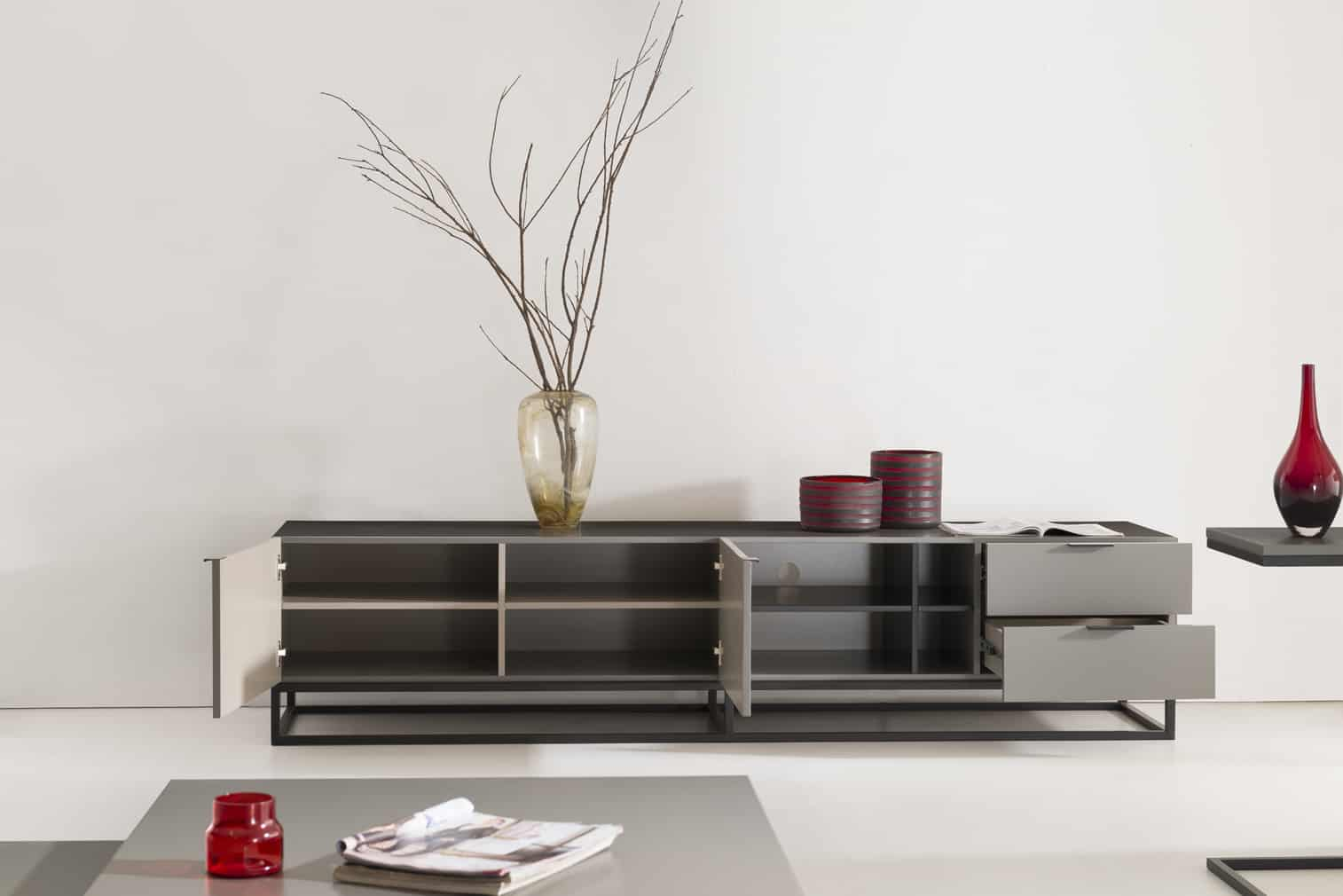 tv unit with base